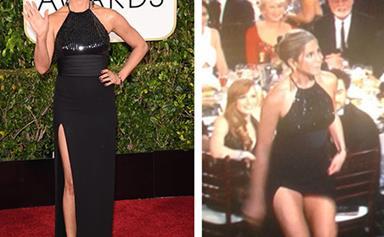 Golden Globes' most dramatic wardrobe malfunctions