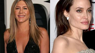 Angelina Jolie and Jennifer Aniston are both presenting awards at the Golden Globes