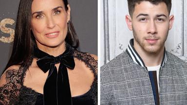 Demi Moore's new toyboy is Nick Jonas, welcome to 2018