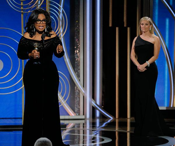 Watch Reese Witherspoon's heartfelt introduction to Oprah in the next slide!