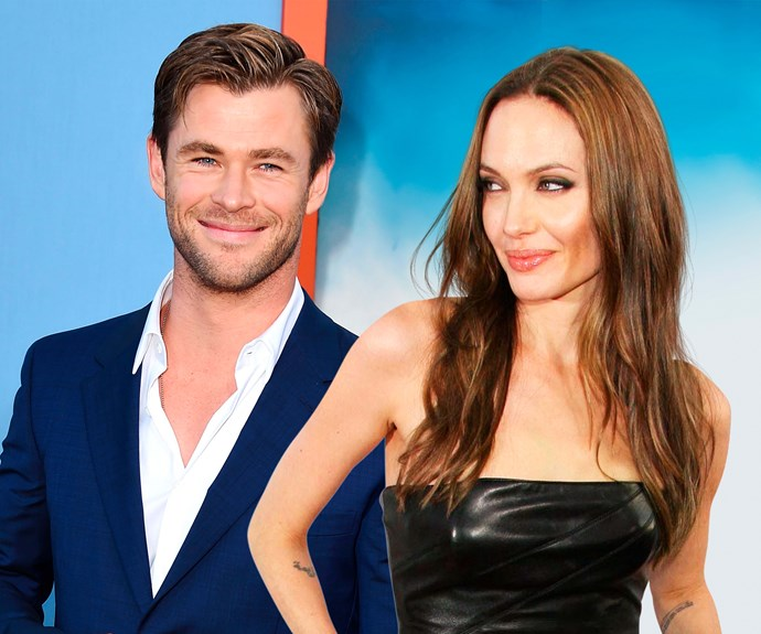 Angelina Jolie, Chris Hemsworth, NW magazine