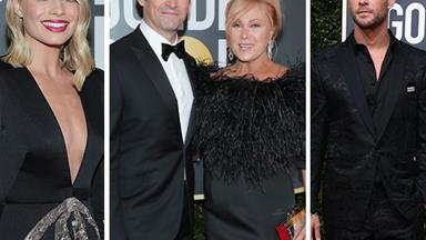 Aussies are taking over the Golden Globes red carpet