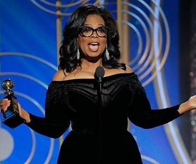 Oprah Winfrey's inspirational Golden Globes' speech