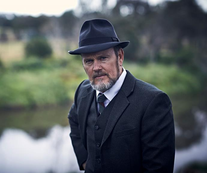 Craig as Doctor Lucien Blake on *The Doctor Blake Mysteries*