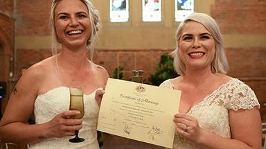 Hurrah! It's the first official day for same-sex marriage in Australia
