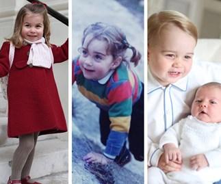 Duchess Catherine, Prince George, Princess Charlotte