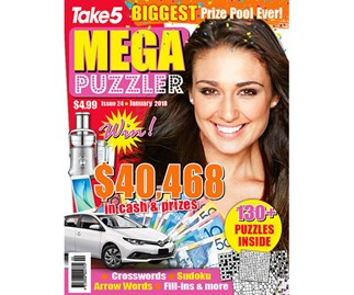Mega Puzzler Issue 24 Coupon