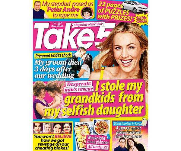 Winners from Take 5 Issue 45, November 9 2017