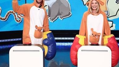 Margot Robbie and Chris Hemsworth hilariously battle to be the 'Best Aussie'