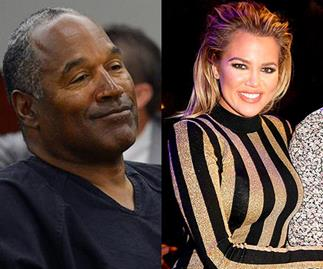 O.J. Simpson and Khloé Kardashian