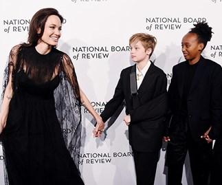 Angelina Jolie, Shiloh Jolie-Pitt, Zahara Jolie-Pitt
