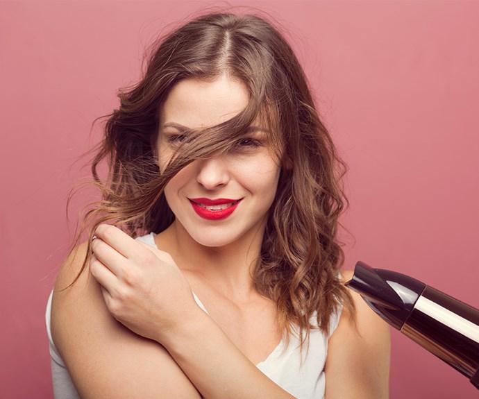 Revelation: Air drying hair causes more damage than blow drying
