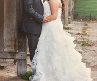 "Bride posts brilliantly hilarious ad for wedding dress worn ""once by mistake"""