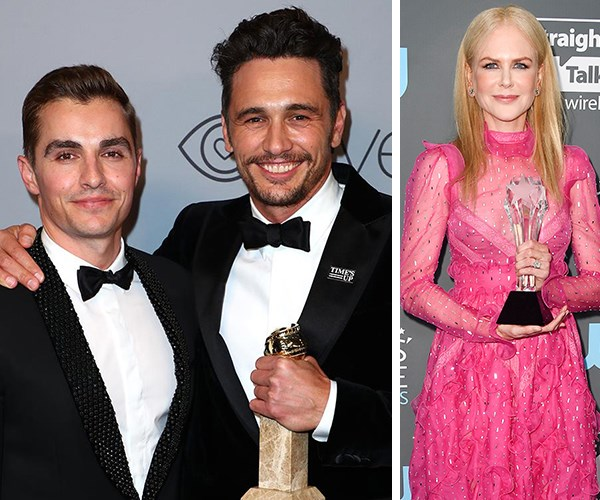 James Franco wins best actor but skips award ceremony amidst sexual assault allegations