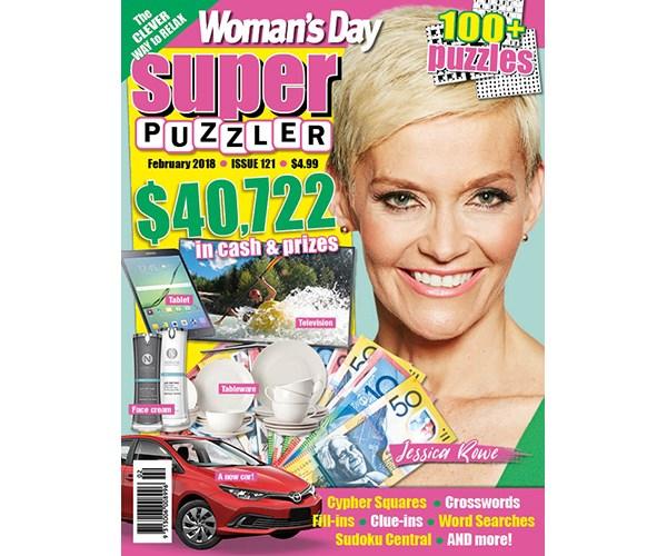 Superpuzzler Issue 121 Coupon
