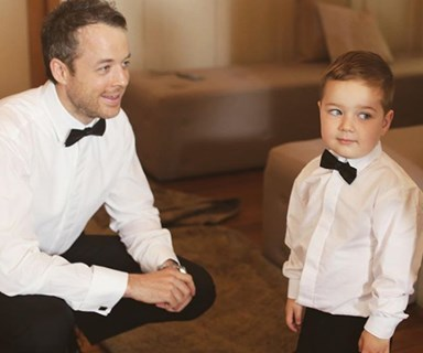 Sonny Blake is the spitting image of his comedian dad in adorable new video shot by mum Zoë