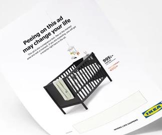 IKEA wants you to pee on their ads so pass us another Swedish Meatball because we're SPOOKED