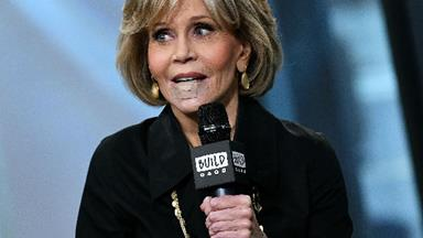 "Jane Fonda is ""fine"" after having a cancerous growth removed from her lip"