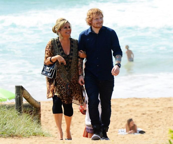Ed Sheeran on HAA