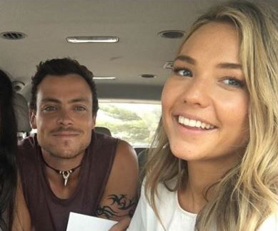 Patrick O'Connor and Sam Frost
