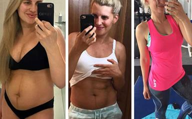 Tiffiny Hall shares just how she lost 21kg in four months after giving birth