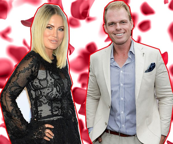 Jarrod Woodgate and Keira Maguire