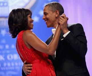 The Barack Obama and Michelle Obama love story