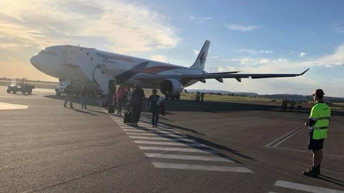 """I thought I was going to die."" Inside Malaysia Airlines hell flight forced to land in Alice Springs"