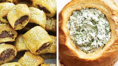 12 finger food recipes for Australia Day entertaining