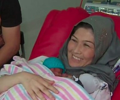 Melbourne couple welcome quadruplets after nearly a decade of trying to fall pregnant