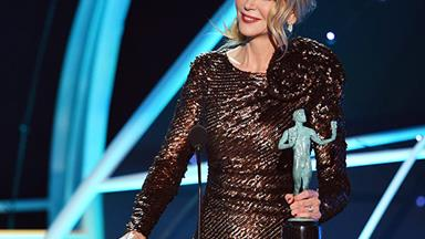 """I am nothing without you!"" Nicole Kidman's heartfelt tribute to her family at the SAG Awards"