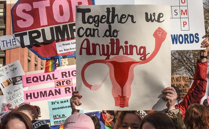 The most powerful scenes from the 2018 Women's March