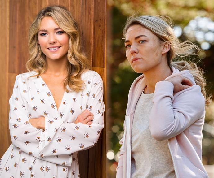 **Sam Frost in *Home and Away***   From *Bachelorette* to beach babe, Sam Frost has arrived in Summer Bay! The 28-year-old made a dramatic entrance in the final moments of last year's shocking finale. We can't wait to see what Sam's character, Jasmine, does next.