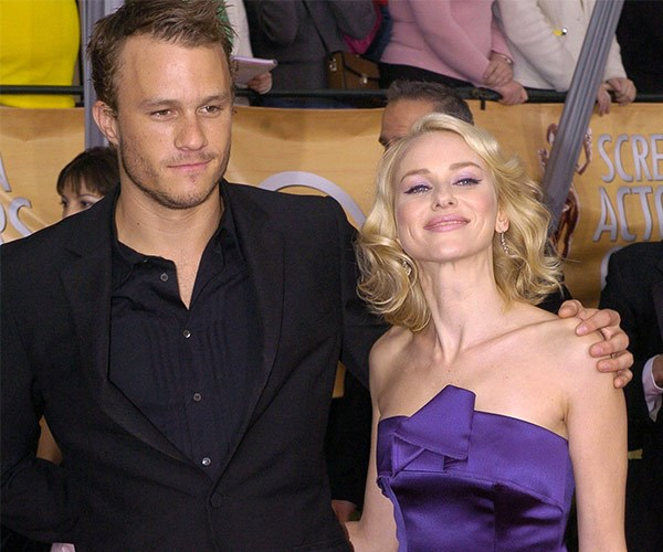 Naomi Watts and Heath Ledger