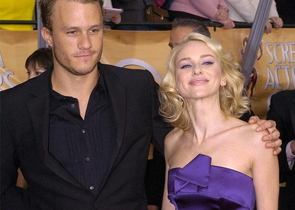 Naomi Watts and Heath Ledger