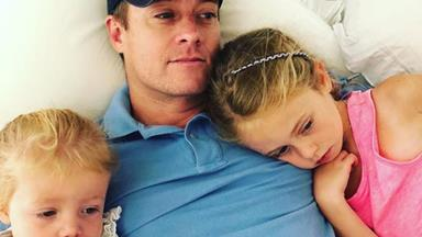 EXCLUSIVE: Proud dad Grant Denyer opens up about his two beautiful daughters