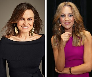 Lisa Wilkinson and Carrie Bickmore