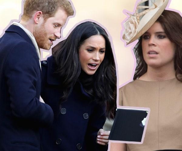 Prince Harry, Meghan Markle, Princess Eugenie