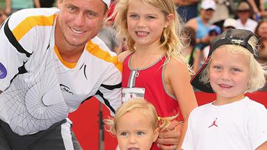 Lleyton Hewitt's grand-slam cutest dad moments
