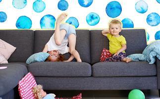 Entertaining children at home