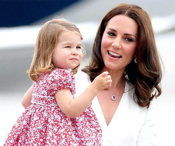 """She's very sweet and very confident - she's always chatting away,"" an insider recently told *People* of Princess Charlotte."