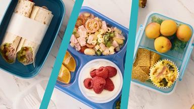 3 quick, easy and delicious kids' lunchbox ideas for when your inspo deserts you