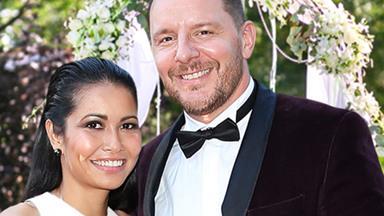 EXCLUSIVE: MKR star Manu Feildel has married Clarissa Weerasena