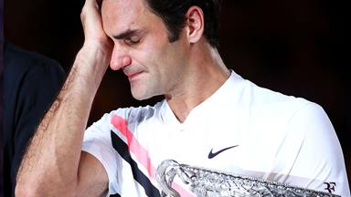 The REAL reason why Roger Federer burst into tears at the Australian Open