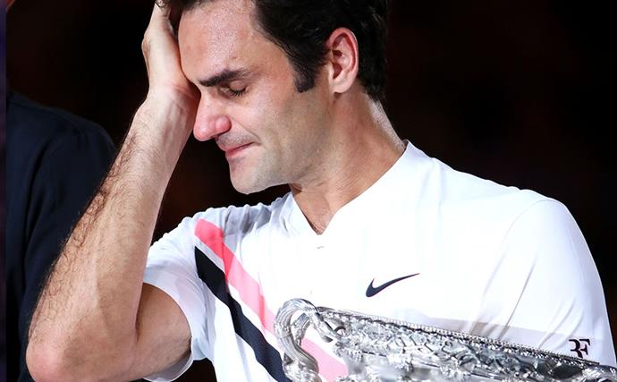 Why Roger Federer cried at the Australian Open