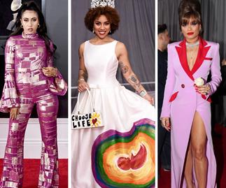 The most outrageous outfits on the 60th Annual Grammy Awards red carpet