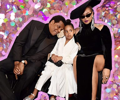 Blue Ivy just schooled Beyonce and Jay Z at the Grammys