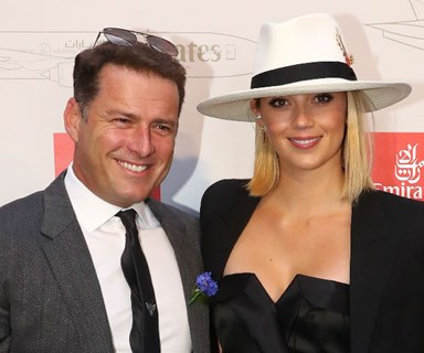There's that bling! Karl Stefanovic and Jasmine Yarbrough take their engagement public