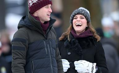 Prince William and Duchess Kate show their competitive sides as they kick off royal tour in Sweden