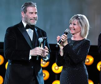 Olivia Newton-John and John Travolta reunite 40 years after Grease premiere